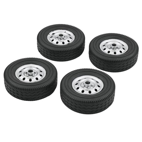 WPL D12 1/10 Original RC Wheels& Tires Parts 4pcs