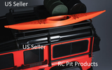 RC Crawler Scale Kayak 3D Printed RED US Seller Axial RC4WD Traxxas TRX4