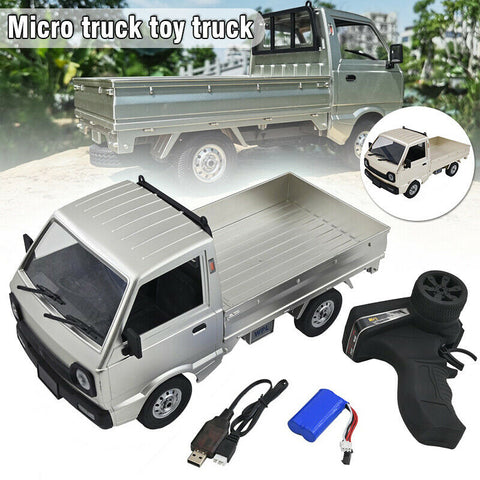 WPL D12 1/10 RC Truck in Silver