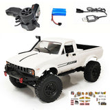 WPL RC C24-1/16 2.4G 4WD Crawler Truck RTR in White