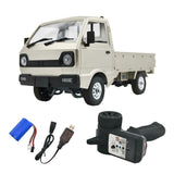 WPL D12 1/10 RC Truck in White RTR