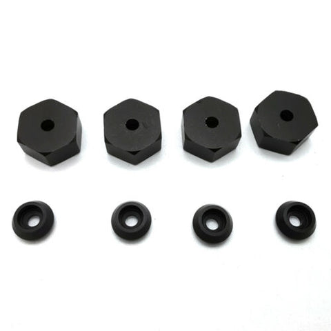 4PC 5mm to 12mm Metal Adapters Wheel Hub Combiner for WPL D12 Type B
