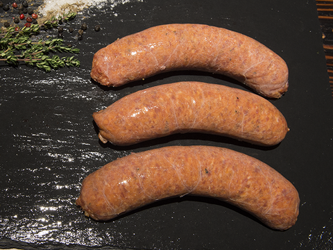Cracked Pepper & Merlot thick sausages