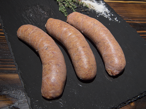 Hearty Beef thick sausages