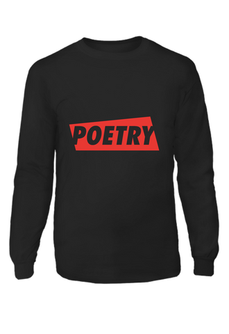 Poetry Hanes Long Sleeve