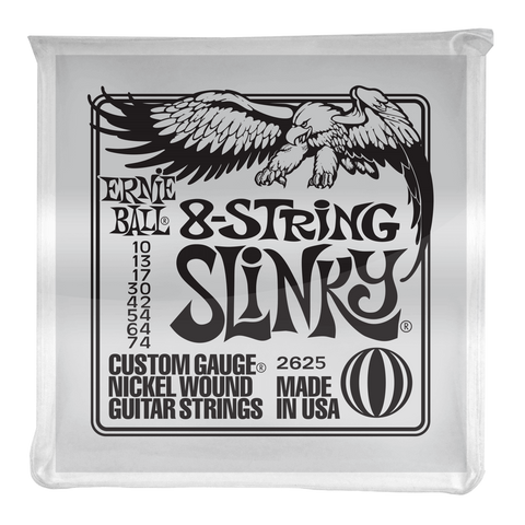 Ernie Ball 8-String Slinky Electric Guitar Strings