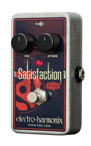 Electro-Harmonix Satisfaction Fuzz Pedal - Somerset Music