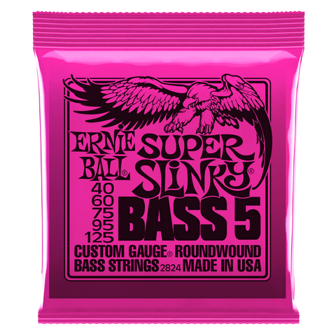 Ernie Ball 5-String Nickel Wound Slinky Electric Bass Strings - Somerset Music