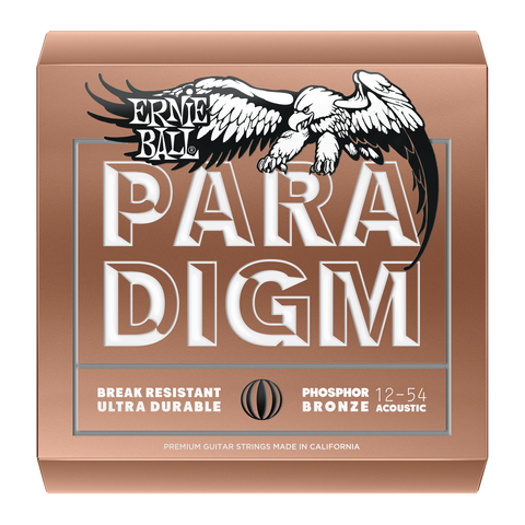 Ernie Ball Paradigm Phosphor Bronze Acoustic Guitar Strings - Somerset Music