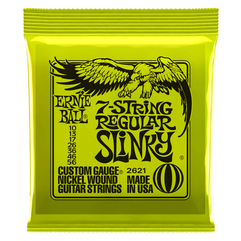 Ernie Ball 7-String Slinky Electric Guitar Strings - Somerset Music
