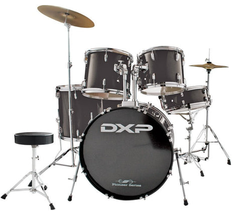DXP Pioneer Drum Kit Black - Somerset Music