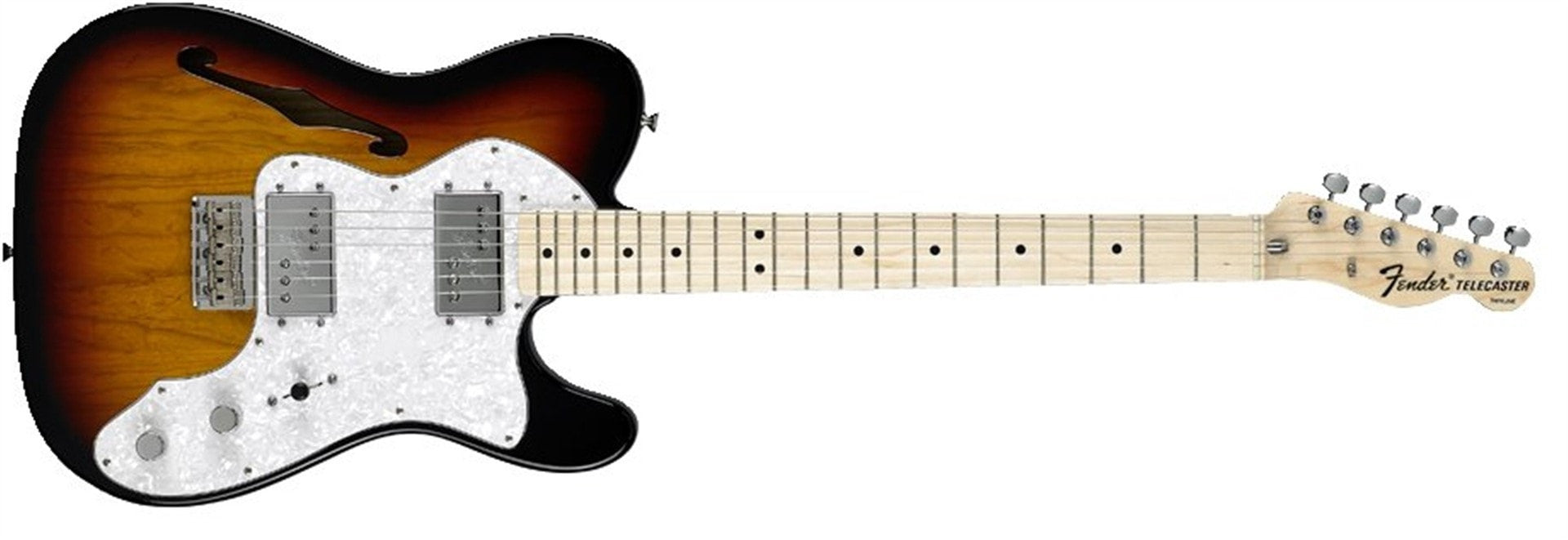 Fender Classic Series '72 Telecaster Thinline - Somerset Music