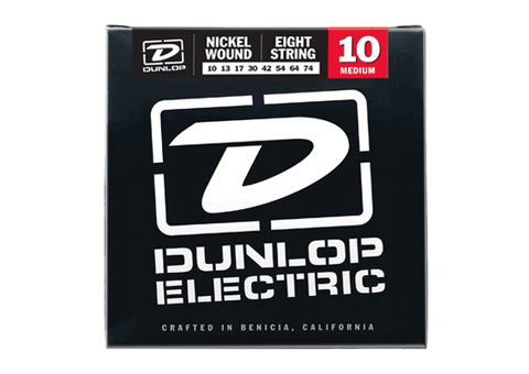 Dunlop Nickel Wound 8-String Electric Guitar Strings - Somerset Music