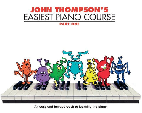 John Thompson Easiest Piano Course BK1 - Somerset Music