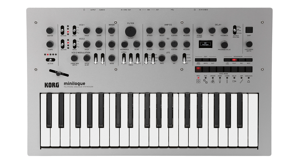 Korg Minilogue 4 Voice Analogue Synth - Somerset Music