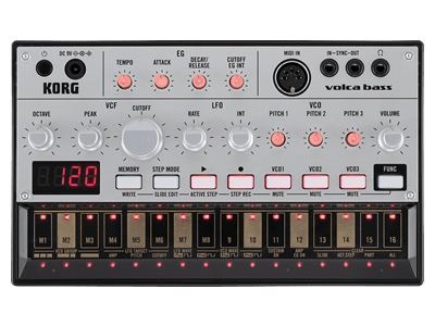Korg Volca Bass Analog Synth - Somerset Music
