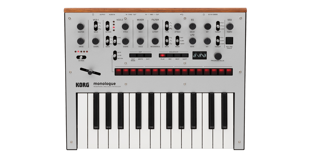 Korg Monologue Analogue Synth - Somerset Music