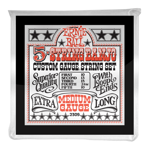 Ernie Ball 5-String Banjo string set