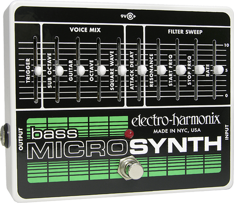 Electro-Harmonix Bass Micro Synthesizer - Somerset Music
