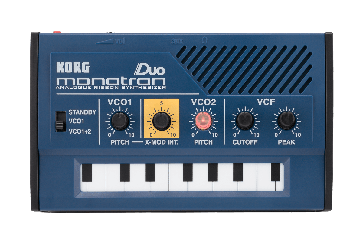 Korg Monotron Duo Analogue Ribbon Synth - Somerset Music
