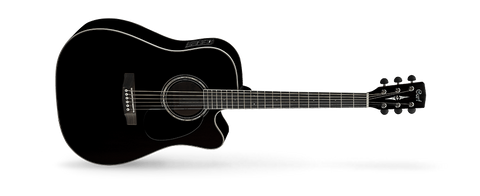 Cort MR710F Dreadnought w/ pickup Gloss Black - Somerset Music