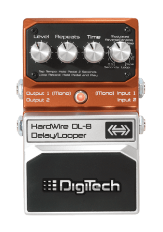 Digitech Hardwire DL-8 Delay & Looper