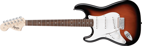 Squier Affinity Stratocaster (Left-Hand) Brown Sunburst