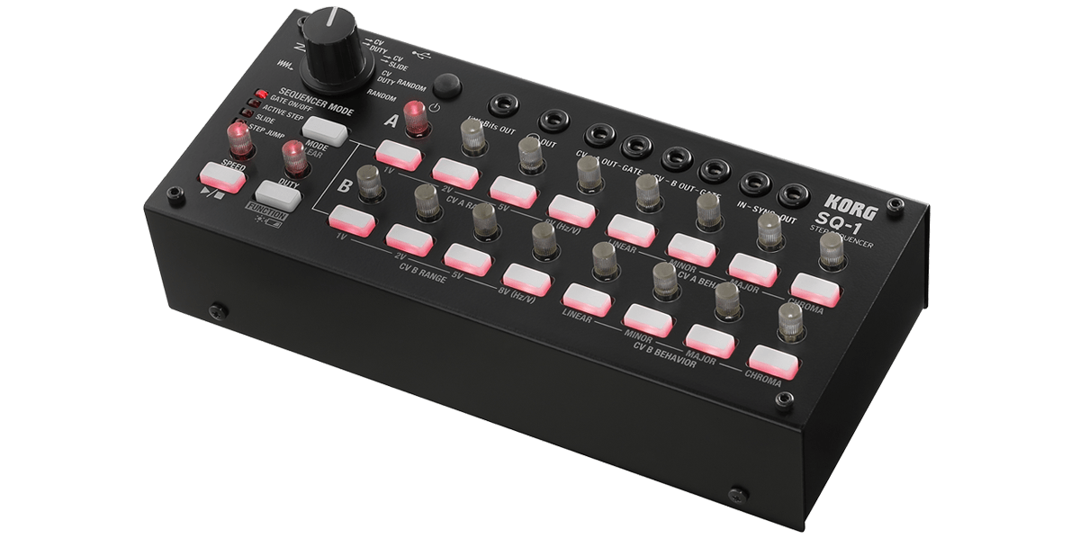 Korg SQ-1 Analogue Step Sequencer - Somerset Music