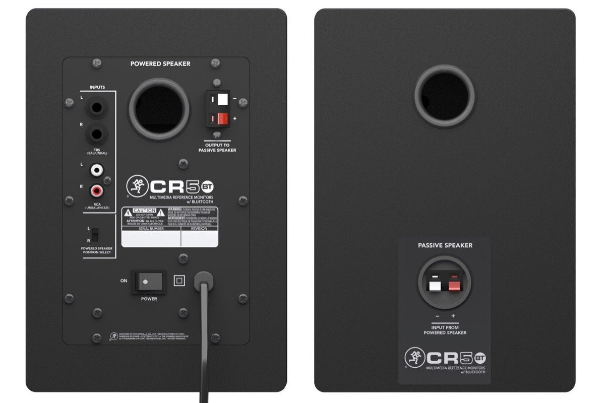 "Mackie CR Series Monitors w/BT 5"" - Somerset Music"