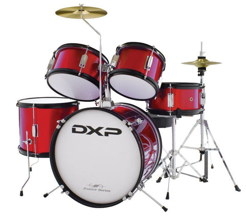 DXP Junior Series 5 piece Kit WINE RED - Somerset Music