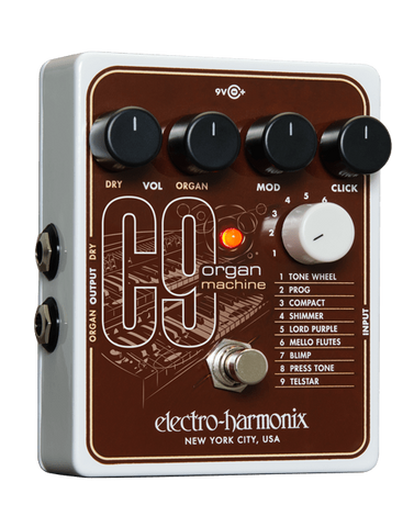 Electro-Harmonix C9 Organ Machine Pedal - Somerset Music