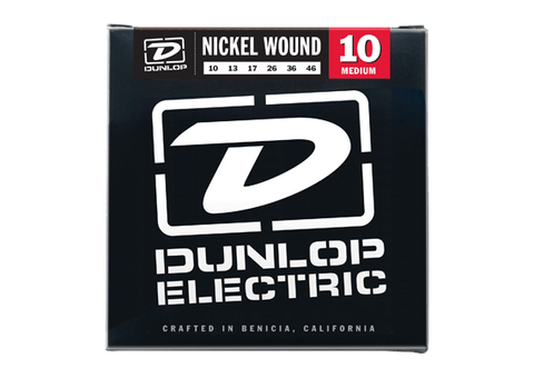 Dunlop Nickel Wound Electric Guitar Strings - Somerset Music