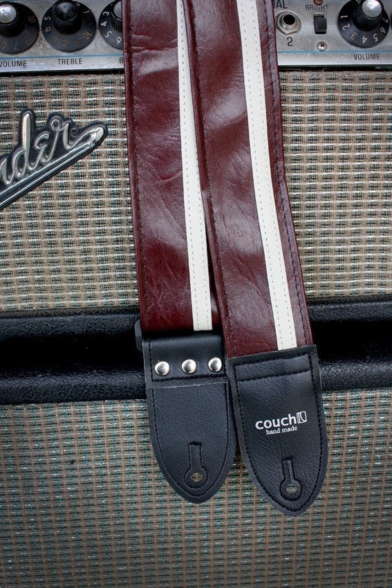 Couch Racer X Strap - Vintage Dark Red Cadillac - Somerset Music
