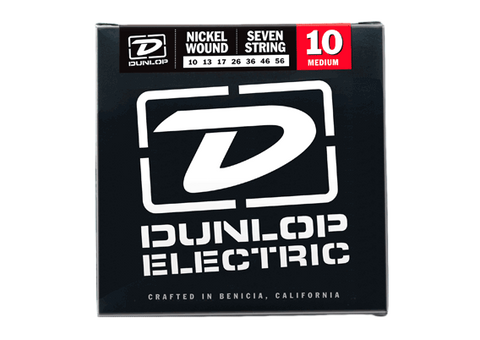 Dunlop Nickel Wound 10-56 7-String Electric Guitar Strings - Somerset Music
