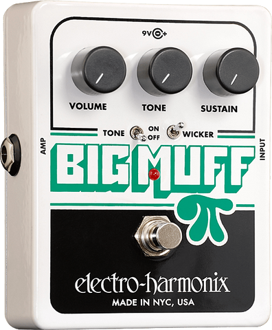 Electro-Harmonix Big Muff Pi w/ Tone Wicker - Somerset Music