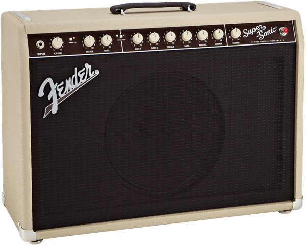 Fender Supersonic 112 60 Watt Combo Black - Somerset Music