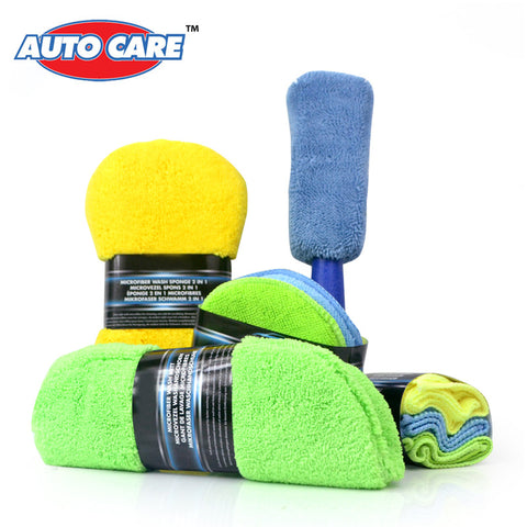 Microfiber Car Cleaning Kit - 9PCS