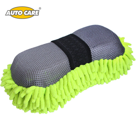 2 IN 1 Car Wash Sponge And Mesh for Washing & Cleaning