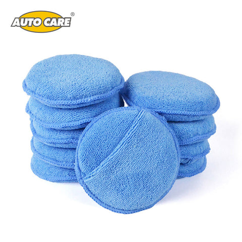 Microfiber Car Wax Applicator Pads - 10-Pack