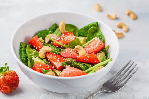 Strawberry and Spinach Salad