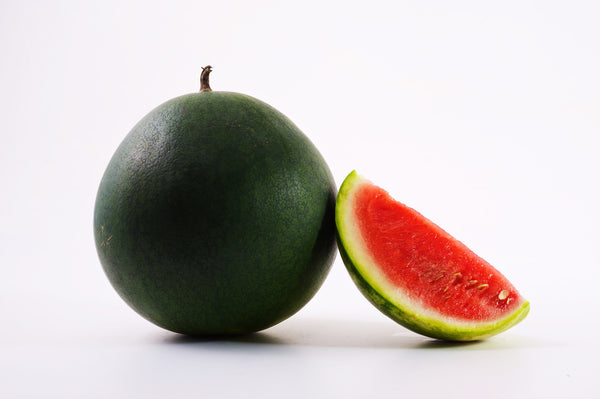 Water Melon Black Round