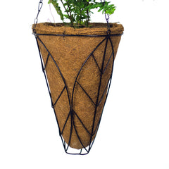 Conical Hanging Flower Pots 12'' (pack of 5)