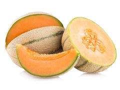 Musk Melon Striped (Orange Flesh) Seeds