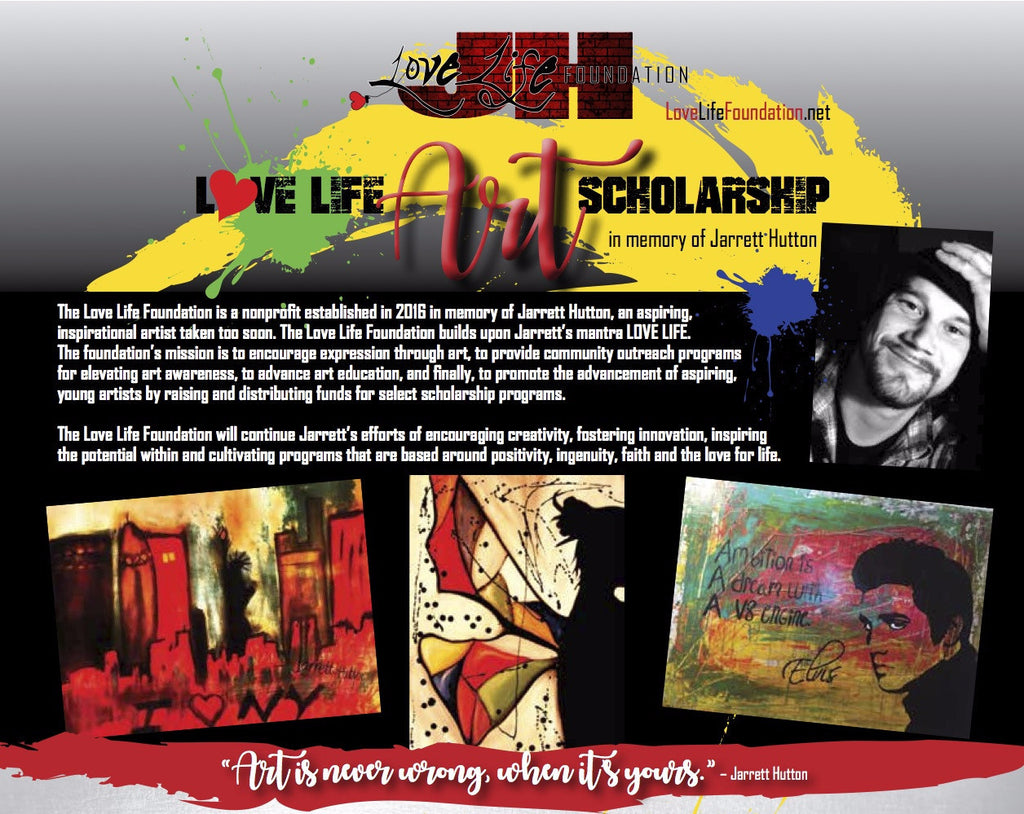 Love Life Foundation Art Scholarship