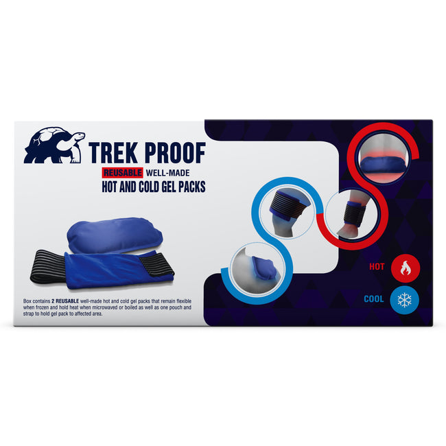 Premium Ice Packs(2) With Strap - BuyTrekProof