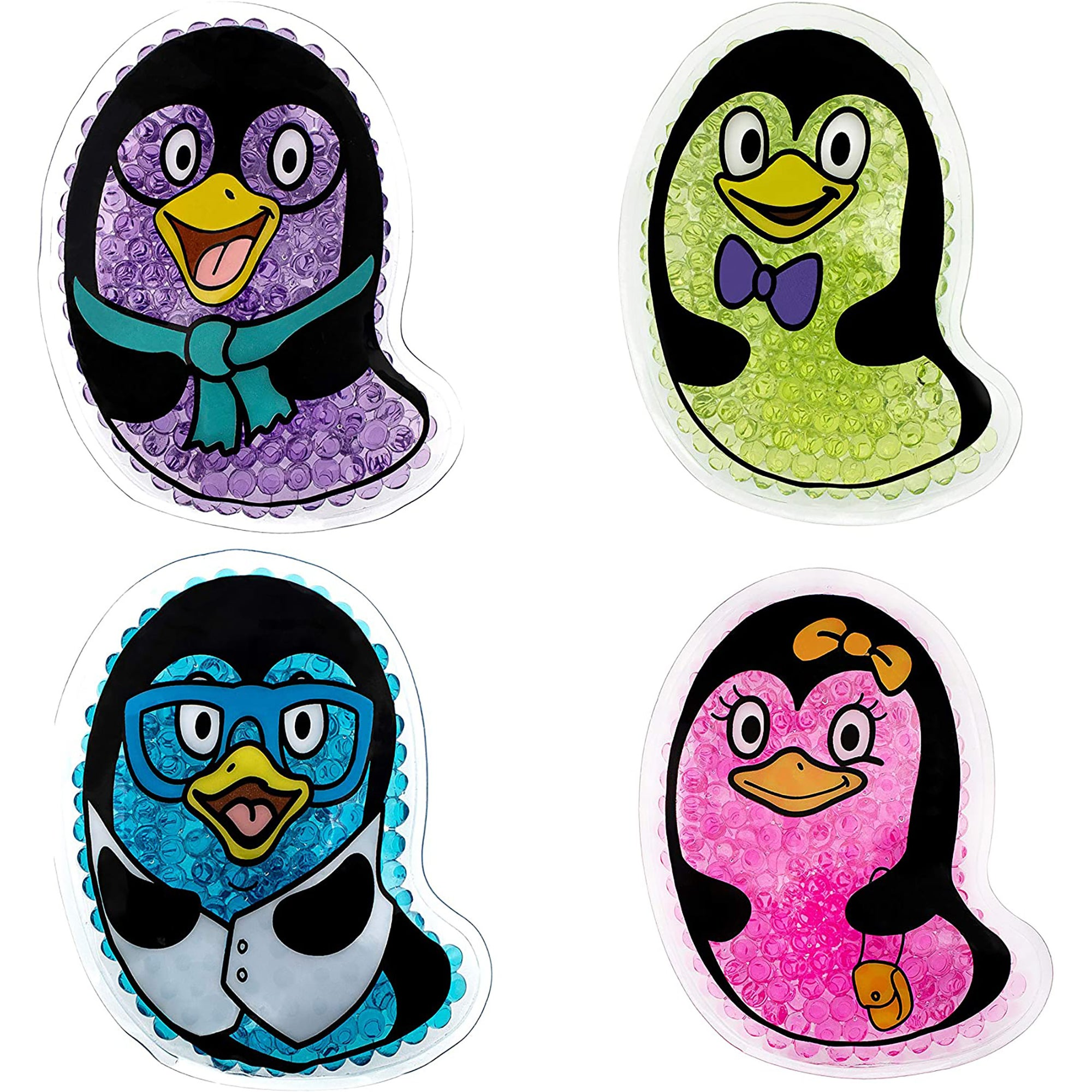 Kid's Penguin Ice Packs (4)-TrekProof