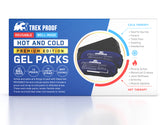 Premium Small Hot and Cold Ice Packs (2-Piece Set) with wrap