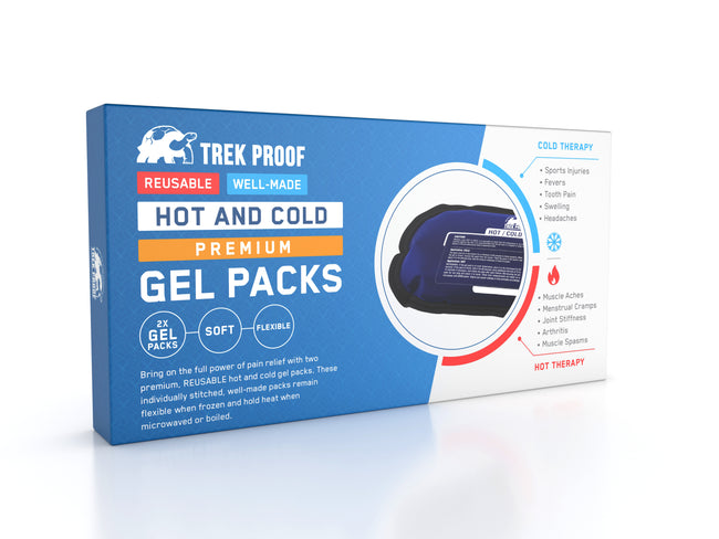 TrekProof Small Hot and Cold Ice Packs (2-Piece Set)