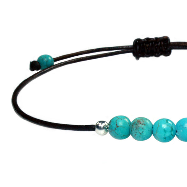 Anklets for women Bohemian Blue - Turquoise