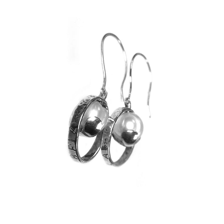 Earrings Exclusive - Sterling Silver and Pearls